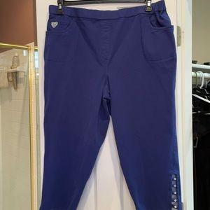 2x quacker factory Dream cropped jeans